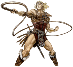Simon Belmont's Spirit Artwork ripped from Ultimate. Originally from Castlevania: Grimoire of Souls.