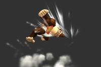 Jumping Headbutt in Super Smash Bros. for Wii U.