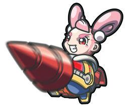 """Official artwork of Jill from """"Drill Dozer""""."""