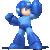 Mega Man as he appears in Super Smash Bros. 4.