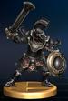 Darknut trophy from Super Smash Bros. Brawl.