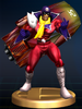 Blood Falcon trophy from Super Smash Bros. Brawl.