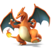 Charizard as it appears in Super Smash Bros. 4. source