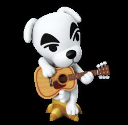 K.K. Slider's artwork seen on the Play Nintendo website.