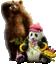 SSBU spirit Kuma & Panda.png