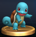 Squirtle trophy from Super Smash Bros. Brawl.