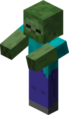 The Zombie from Minecraft