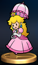 Paper Peach - Brawl Trophy.png
