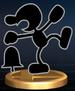 Mr. Game & Watch - Brawl Trophy.png