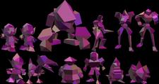 All twelve Polygons. From SSB64's debug menu.