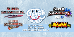 Banner for Get On My Level 2018.