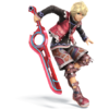 Shulk as he appears in Super Smash Bros. 4.