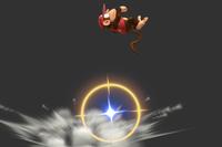 Flying Monkey Flip in Super Smash Bros. for Wii U.