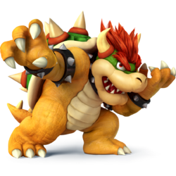 Bowser as he appears in Super Smash Bros. 4.