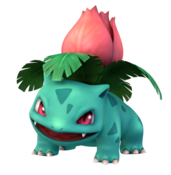 Render used for Project Plus Ivysaur.
