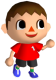 Artwork used for the Male Villager's Fighter Spirit. Ripped from Game Files