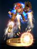 Rocketbarrel Barrage trophy from Super Smash Bros. Brawl.