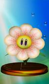 Fire Flower trophy from Super Smash Bros. Melee.