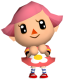 Artwork used for the Female Villager's Fighter Spirit. Ripped from Game Files