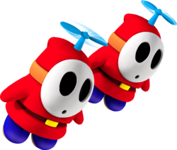 Two Fly Guys from Mario Party 8.