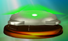 Motion-Sensor Bomb trophy from Super Smash Bros. Melee.