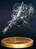 Subspace Gunship trophy from Super Smash Bros. Brawl.