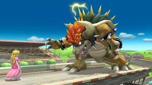Giga Bowser in SSB4 for Wii U.
