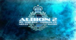 The logo for Albion 2.