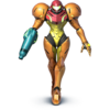 Samus as she appears in Super Smash Bros. 4.
