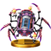 Porky's Trophy from Super Smash Bros. for the Wii U.