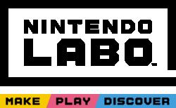 Logo for the Nintendo Labo videogame