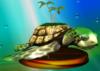 Turtle trophy from Super Smash Bros. Melee.
