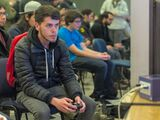 Chilean smasher Pumm in Beauchef Strikes Back 2 tournament, held in Santiago, Chile, in 2018.