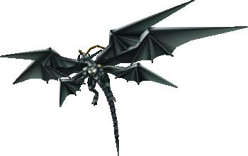 Bahamut Zero in Final Fantasy VII.