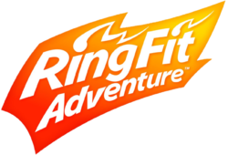 The logo of Ring Fit Adventure.