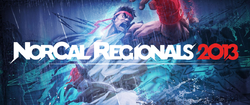 Official logo for the NorCal Regionals 2013 tournament.