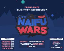 The logo for Naifu Wars: Civil War.