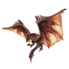 Render of Rathalos from the official website