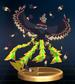 Helmaroc King trophy from Super Smash Bros. Brawl.