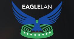 EagleLAN tournament logo.