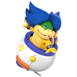 Ludwig as he appears in Super Smash Bros. 4.