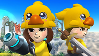 The Chocobo hat in SSB4
