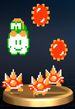 Lakitu and Spinies - Brawl Trophy.png