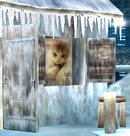 Source: Tumblr. The cat portrait as it appears in Super Smash Bros. for Wii U version of the Pokémon Stadium 2 stage.
