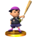 Ness's Alternate Trophy in Smash 3DS.