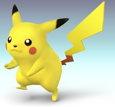 Pikachu as seen in Brawl.