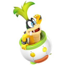 Iggy as he appears in Super Smash Bros. 4.