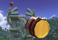 Smashwiki Jungle Hijinxs Barrels.png