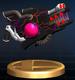 Dark Cannon trophy from Super Smash Bros. Brawl.