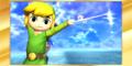 SSB4-3DS Congratulations Classic Toon Link.png